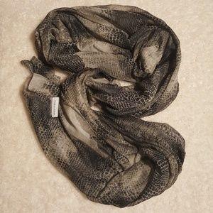 Make Offer! Polyester Snakeskin Print Scarf Wrap